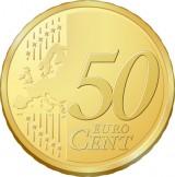 50 Euro Cent Coin